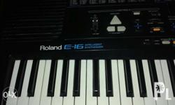 For Sale Roland Intelligent Synthesizer Model E -16