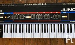 Classic Roland Synthesizer in very good condition.