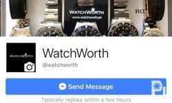 Send us a message on our facebook page Watchworth We