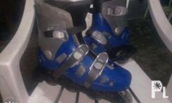 for sale my secondhand roller blades color blue size 6