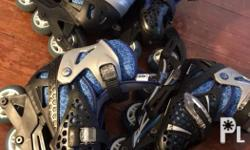 Rd roller blades 2 sets Size2-5 My kids used it from