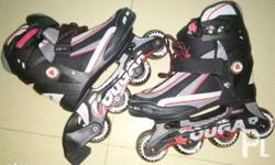 "Cougar Roller Blades size 30-34 Inner sole 8""(21cm)"