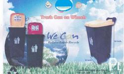 Trash Can on Wheels is New in the market. It is easy to