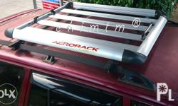 "ROOF RACK - Brand: Aerorack - Size: 38"" x 50"" inches"