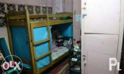 Rates: 4 persons in one room Bed space double deck: