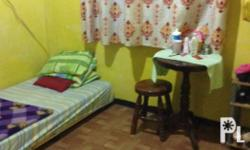 Room for rent! Good for 2 persons. Male/Female Place is