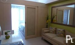 It's a fully furnished One-Bedroom with balcony located