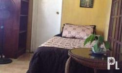 Furnished room for rent with nice garden view, with own