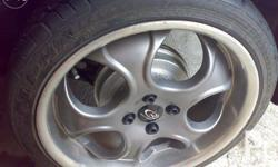 Rota Mag Wheels with Tires - 90% tire thickness - 2
