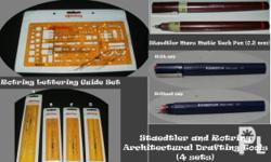 Deskripsiyon Rotring and Staedtler Architectural