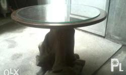 Round table - santol trunk 2ft 2in - height 2ft 7in -