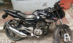 Kawasaki rouser 135,complete papers,all working,good