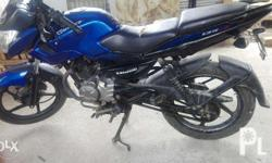 Im selling my raouser 135(kawasaki) color blue Running