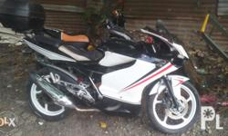 Kawasaki rouser 135 modified. Monoshock . 2012. Rear