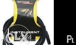 roxtone guitar cable 5 meters brandnew for pick up/for