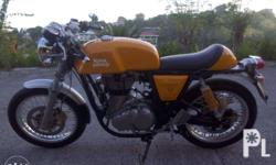 Rush sale, Royal Enfield GT Continental 535cc, 5k km