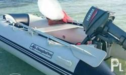 boat is almost 3 meters,engine yamaha is 8hp,with tank