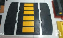 JFSH-R08-MID Rubber Speed Hump Size: Middle, 900 x 500