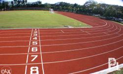 Seamless Synthetic Running Track IAAF Certified