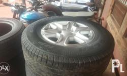 Negotiable just like paying for the rims casa rims