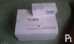 Blue Vr Box V2 with Bluetooth Controler (battery