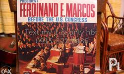 TITLE: President Ferdinand E. Marcos Before the U.S.