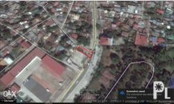 This commercial lot for sale is corner lot along the