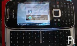 rush E75 4gb memory with charger very good condetion 7k