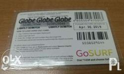 Globe prepaid card many, sell it at 450p for 500p, we