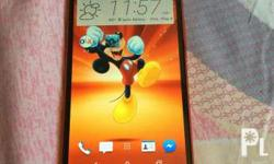 HTC one m8 (rare red color) processor: 2.5GHz Ram: 2GB