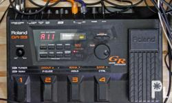 INCLUDED IN THE PACKAGE ARE THE FF: ROLAND GR-33 GUITAR