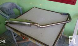 Sale customized pipe for rouser 180 pure stainless w/