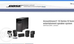Brand new BOSE Acoustimass 10 Series IV Home