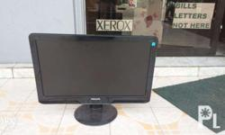 Philip LCD Monitor without cable black color issue: