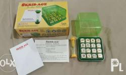 A highly recommended alternative to Scrabble. The