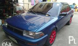Toyota corolla 1.6 gl Manual Good running conditiin No