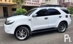 RUSH SALE - Toyota Fortuner 2007 - ( With 3rd Row )