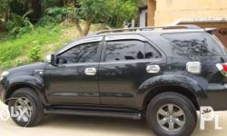 Toyota Fortuner 2008 Gasoline Lady Driven 102,000