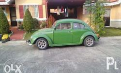 totally restored VW bug OR CR valid until march manual