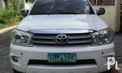 Selling our Toyota Fortuner 2011 model 4x2 G variant