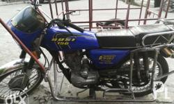 Rusi 125 with sidecar Contact no. 09228759845