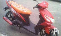 Rusi mio beat 125cc 2014 model. complete papers. all