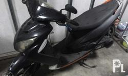 Rusi mio style scooter color black registered complete