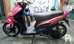 For sale 2 units scooters 2016 Rusi sc-w125 -pink