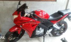 Motorcycle rusi ssx 150cc...with 9 months balance...