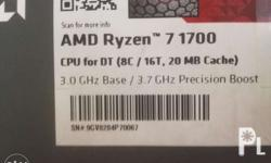 Ryzen 7 1700 procie with sphire cooler - rgb led