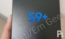 Samsung S9+ 64g Midnight Black BRANDNEW SEALED Sim 1