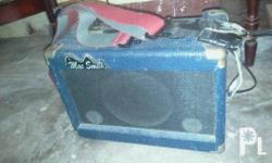 im selling my mac smith guitar amp for 1.3k fixed na po