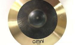 Brand New Sabian AAX Omni Crash Ride Cymbals 18""