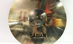 "Brand New Sabian AAX X-plosion Crash 16"" Genuine"